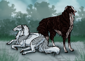 Shaska and Alistair -Trade by Barguest