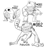 PKMN-A-DAY: Frogs by the-b3ing