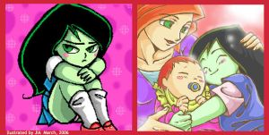 Little Shego by jiattmay