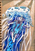 Jellyfish Friend by Kat-Nicholson