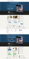 Recovery Record iPhone/Android Web Design by vasiligfx