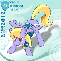 Winter Wrap Up 2012 : Cloud Kicker by tehflah
