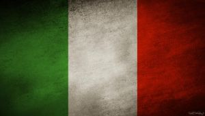 Italy grunge flag by The-proffesional
