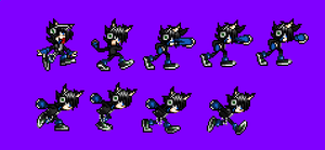 Francis new sprites (they are rare) by NSMBXomega