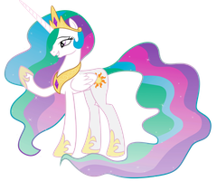 Princess Celestia by LooseKnot