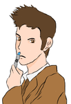 Tenth Doctor Vector by Fairy--Princess