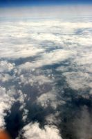 Sky from plane II by deadenddoll-stock