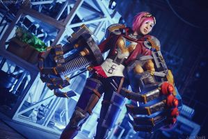 Cosplay: League Of Legends - Vi by Lika-Lu