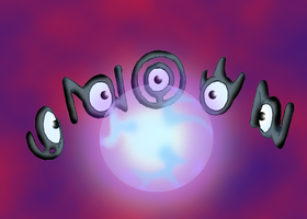 The Secret Dimension - Unown by CosmicSprinkles
