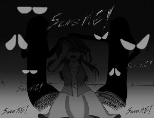 Wallpaper my comic ' Save ME! ' ~ Emotion Contest by Blaqi