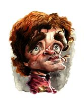 Tyrion Lannister by lucasordonez