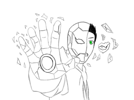I. AM. IRON MAN WIP  by TwinVision