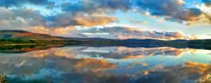Sunset in Blessington by Aishlling