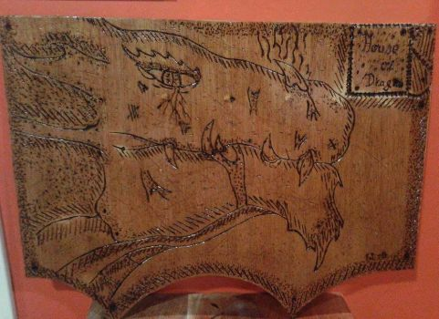Wood Carving - Dragon by flaviudraghis