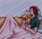 KHNG - Nap Time by x-Lilou-chan-x