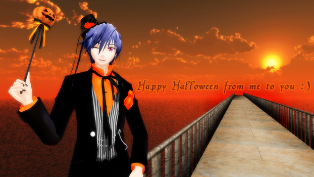 (MMD) Happy Halloween! 2013 by Therapii