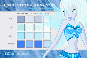 Ishana Color pallette by CharmedWings