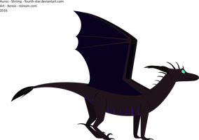 Flat lineless style trying with Auros by DragonsTEQ