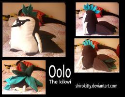 Oolo The Kikwi by Shirokitty