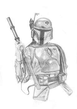 Boba Fett by THINGSIDOODLE