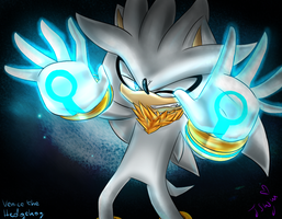 Venice the Hedgehog- Chaos Power by JustSmileWithMe