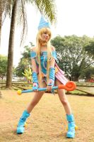 Dark Magician Girl - Cosplay - Yu-Gi-Oh! by MishiroMirage