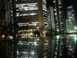 STOCK TOKYO NIGHT VIEW JAPAN NO:010060026 by hirolus
