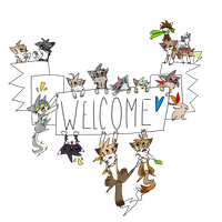 WELCOME by miIk-tea