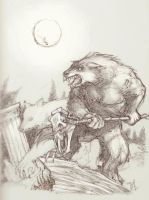 Werewolves? In broad daylight? by Anubish