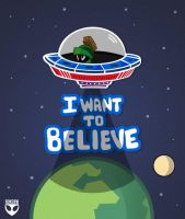 I Want To Believe by roksow