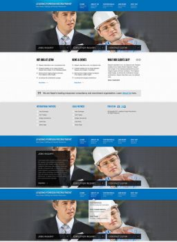 website PSD for Sale by View9