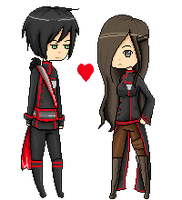 .:Commission:.Satina pixel animation by DatChae