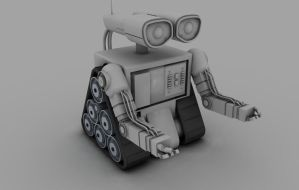 Robot without Texturing by darkevil2