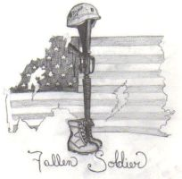 Sign Of The Fallen Soldiers by Benecee