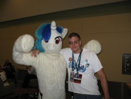 BronyCon 2013 - Vinyl Scratch and Rustic Shine by AleximusPrime