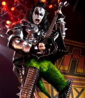 Gene Simmons Pantless by Agent-Spiff