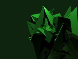 Green Abstract by chris-stahl