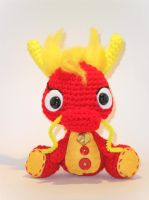 Cocono's friends: red oriental dragon by Tia-tony