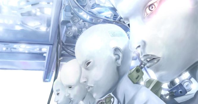 Ghost in the shell. CLONES by RaffaeleGalasso