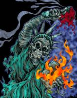 Dead Liberty spfx version by MonsterInk