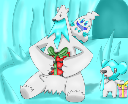 Merry Ice type pokemon 2015 by ironbranch