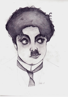 Chaplin 1 by Morpires