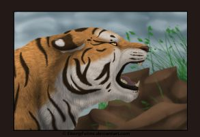 Angry Tiger by FantaTara