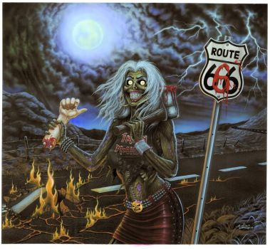 Route 666 - Cover Art by taplegion