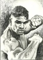 Alistair Overeem by therealbradu