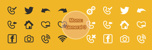 Mono: Office General 3 by customicondesign