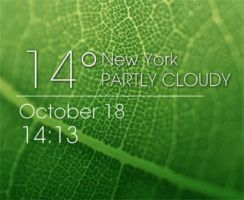 WP7 Weather Time by XwidgetSkin