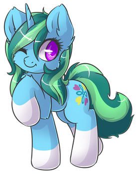Commission - Mintyheart by Sapphfyr