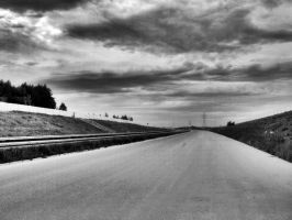 Polish motorway by adriannazajac