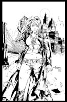 Witchblade Cover by Kriss777
